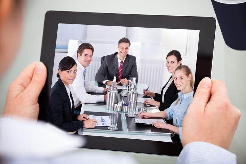 Video marketing for staff introductions.