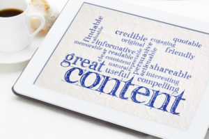 Get Found Fast with great content
